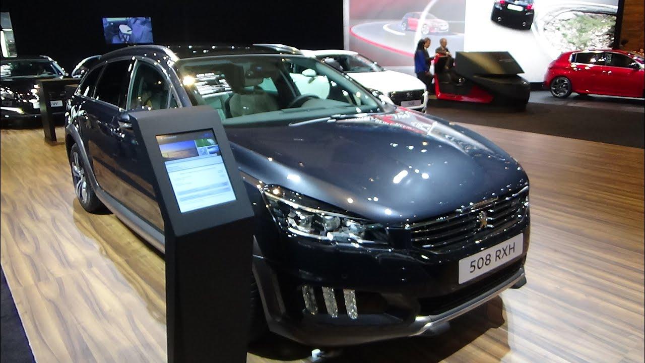 2016 - peugeot 508 rxh - exterior and interior - auto show
