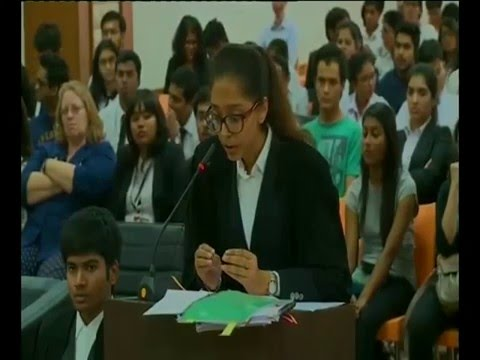 Symbiosis Law School Pune Moot Court Competition 2016
