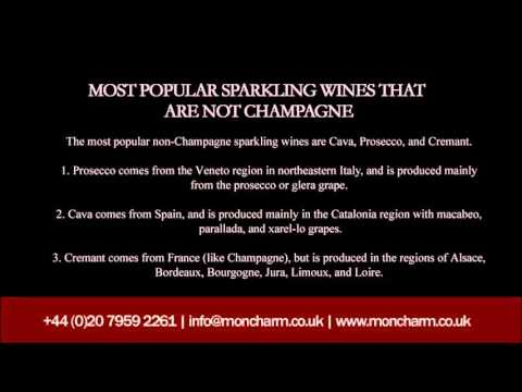 Champagne Vs  Sparkling Wine – Characteristics & Recommendations
