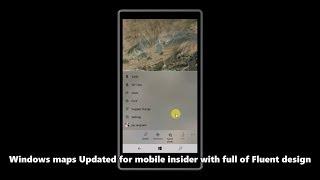 Hands on : Windows 10 Mobile Build 15222 (Fluent/NEON design)