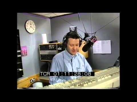 Graham Mack in studio 106 Century FM.
