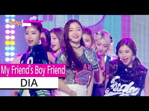 [HOT] DIA - My Friend's Boy Friend, 다이아 - 내 친구의 남자친구, Show Music core 20151114
