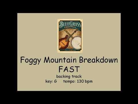 Foggy Mountain Breakdown  - bluegrass backing track FAST