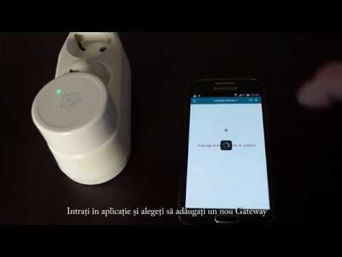 Termostat Poer Smart   Instalare gateway in reteaua wireless locala