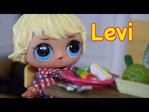 LOL SURPRISE DOLLS Levi's Dream Comes True!