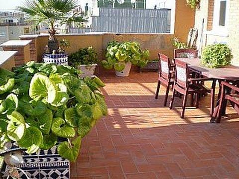 Como hacer un jardin en la azotea youtube for Jardin en azotea diseno