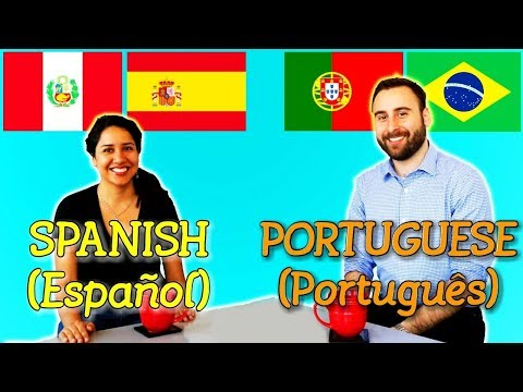 Similarities Between Spanish and Portuguese