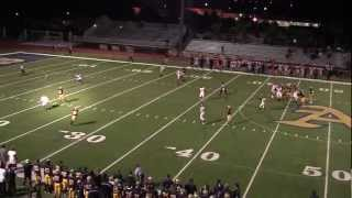 Chandler Dorrell #18 WR -2012 HIGHLIGHTS