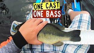Largemouth Bass Crushes Rat - Bonafide SS127 - One Cast One Bass - Mini moment 9