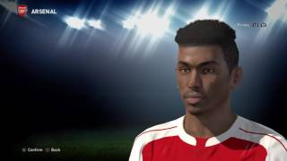 Pro Evolution Soccer 2016_Alex Iwobi Arsenal update.