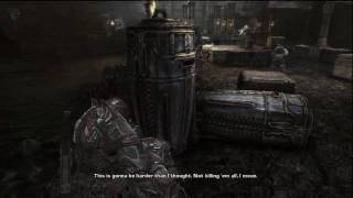 Gears of war 2 Dark Corners Deleted Scene Road to Ruin (Stealth Option) 1/2 HD