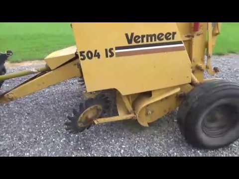 Vermeer 504 IS Round Baler 540 PTO Twine Hydraulic Tie Works