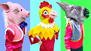 Five Kids Song about Pets Nursery Rhymes & Kids Song