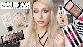 Full face testing drugstore makeup testing Catrice cosmetics | DramaticMAC