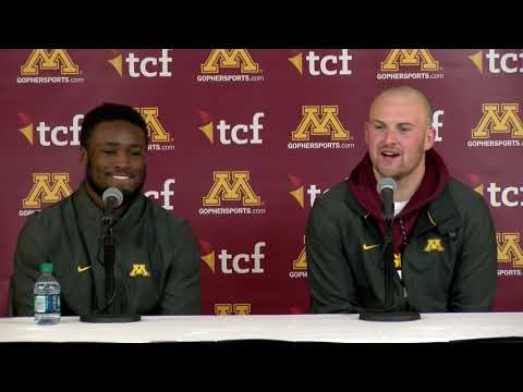Gopher - VIDEOS: Postgame player interviews after BIG Gophers win over Purdue