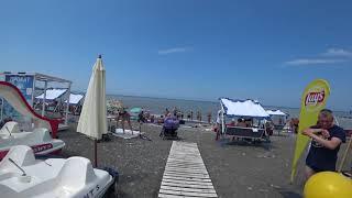 Пляж Ривьера Сочи  25 06 2018  Отдых в Сочи  Сочи онлайн