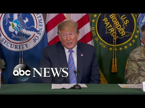Trump to asylum seekers: 'Our country is full ... so turn around'