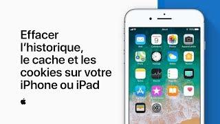 Effacer l'historique, le cache et les cookies sur votre iPhone ou iPad– AssistanceApple