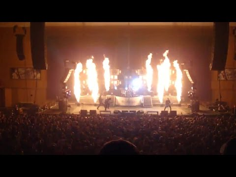 Three Days Grace Live Show @  Roy Wilkins Auditorium, St. Paul, MN 30/03/2010