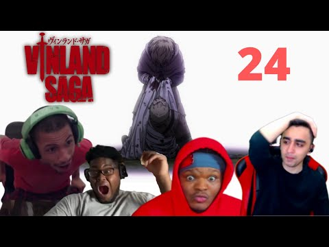 THE BEST END ! VINLAND SAGA EPISODE 24 REACTION MASHUP