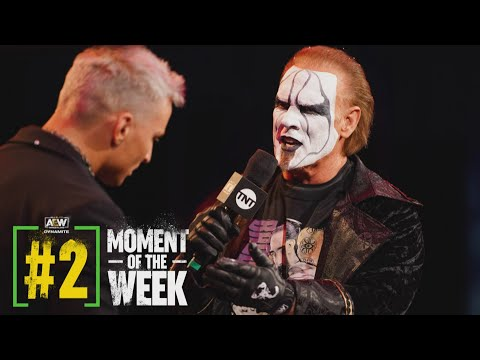 You Won't Believe What Happened When Sting and Darby Allin Came Face to Face | AEW Dynamite, 1/20/21