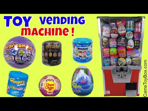 Toy Vending Machine Surprises Pacman...