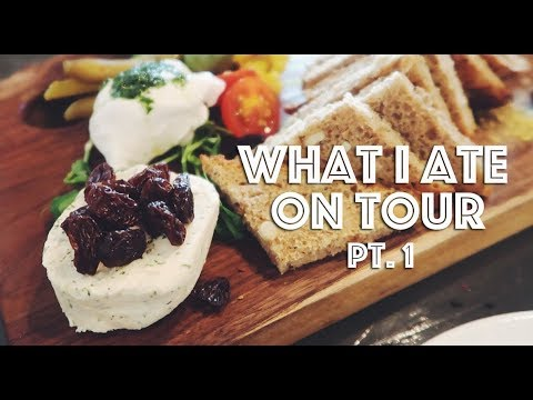 WHAT I ATE ON TOUR (VEGAN) PT. 1 (NEW YORK, PHILLY, NASHVILL