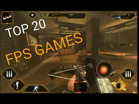 Top 20 FPS Games for Android and Ios