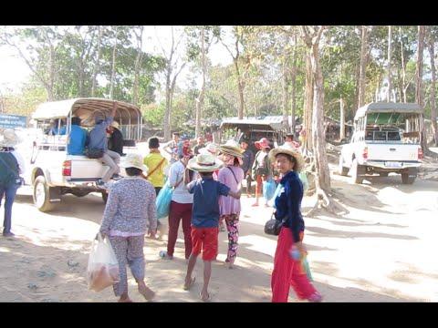 Trip to Preah Vihea Temple in Cambodia