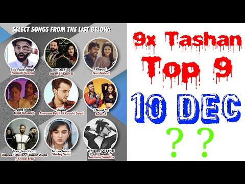 9x Tashan Top 9 of This Week- December 10, 2018 | Latest Punjabi Songs 2018 |