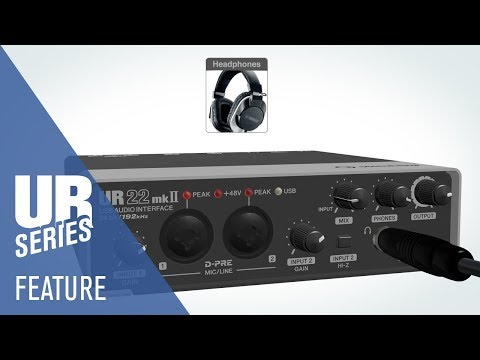 UR22mkII USB Audio Interface | Feature Video
