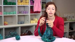 How to Knit Shawls & Ponchos : Knitting & Stitch Techniques