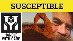 🔵 Susceptible Susceptibility - Susceptible Meaning - Susceptible Examples