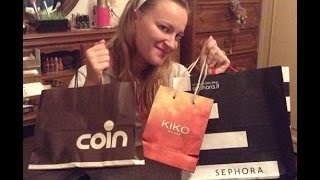 Haul autunnale.. Coin, Sephora, Kiko, Claire's!!! Thumbnail