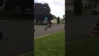 Logan catching some air