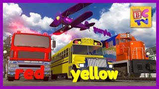 Color Train | Learn Colors with Trains and Vehicles for Kids