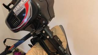 видео Лодочный мотор Ханкай 3.5