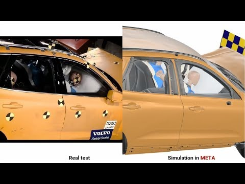 Correlation between test & simulation using photorealism in META