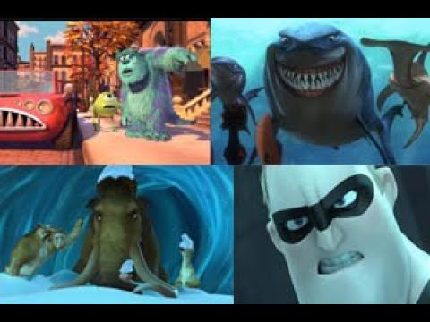 Evolution of Animated movies 2000-2020   Animated Movie Clips   Evolventions