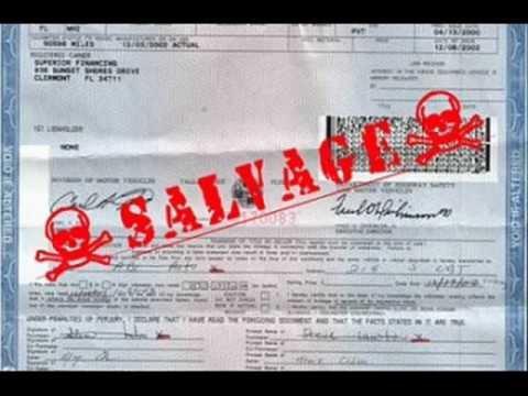Salvage Title Vehicle Illinois Licensed Rebuilder Service