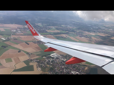 EasyJet Airbus A320 Departing Lille Lesquin