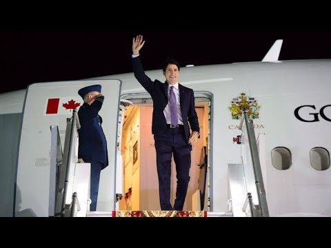 Trudeau and Legault arrive in Armenia for la Francophonie summit