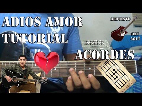 Tutorial | Adiós amor | Julian Mercado | acordes