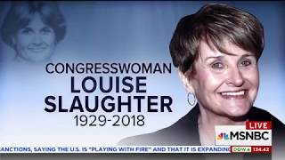 Rep Lee Shares Memories of Louise Slaughter, a Trailblazing Champion for Women and Families