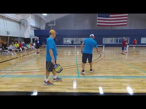 Mens 4.5 Gold Finals Shears/Baxter vs Wong/Hanisch - NSGA Pickleball 2017