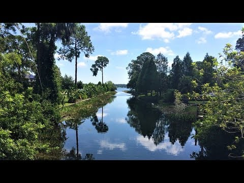 Lake Down Windermere Florida 2018 4K Aerial Drone Lakefront Homes