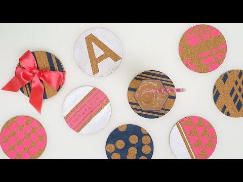 Custom Cork Coasters - Martha Stewart