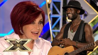 Sparks were flying during Kevin Davy White's ELECTRIC audition | The X Factor UK