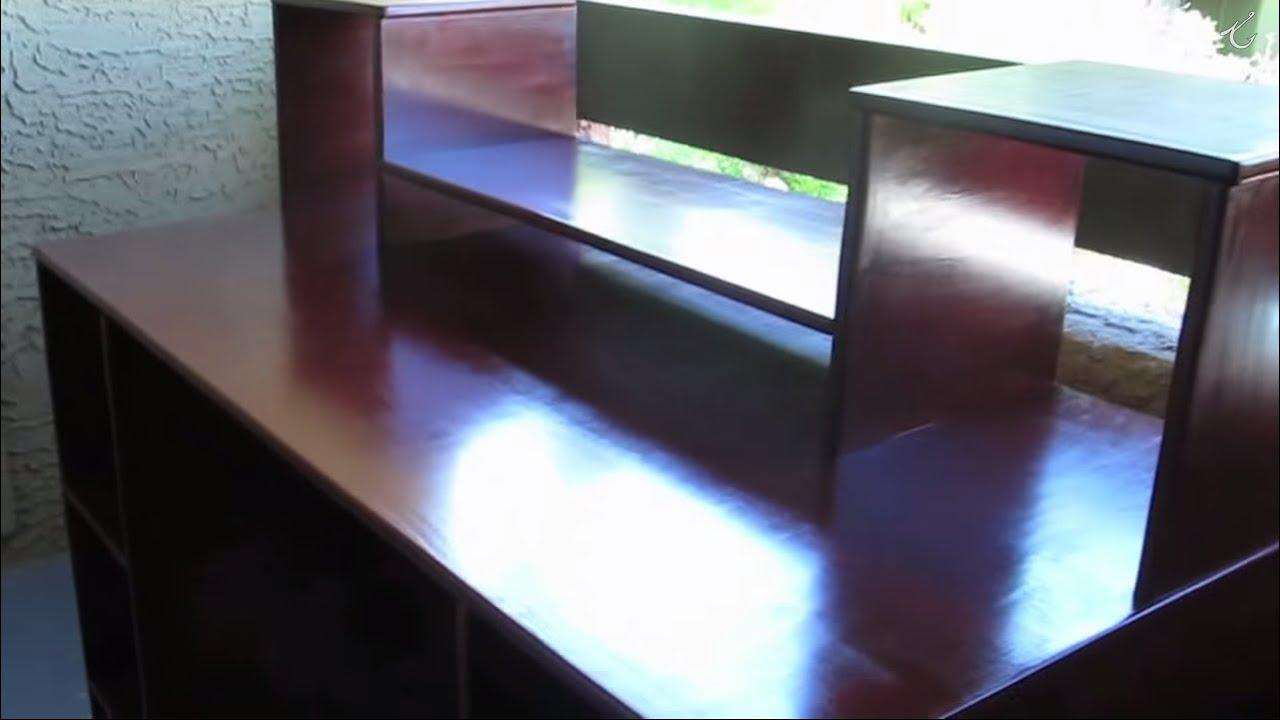 how to build a home recording studio desk (complete guide) - youtube
