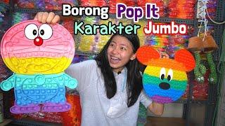 BERBURU POP IT KARAKTER ! ADA POP IT DORAEMON,MICKEY MOUSE,POKEMON,HELLO KITTY DAN TAS POP IT